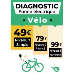 Diagnostic panne électrique Vélo
