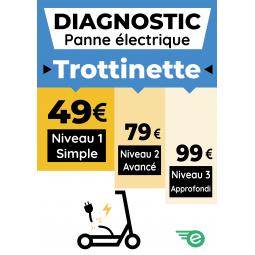 Diagnostic panne électrique Trottinette