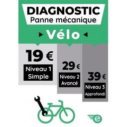 Diagnostic panne mécanique vélo Niveau 1