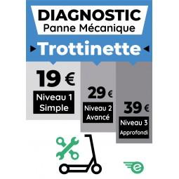 Diagnostic panne mécanique trottinette Niveau 1